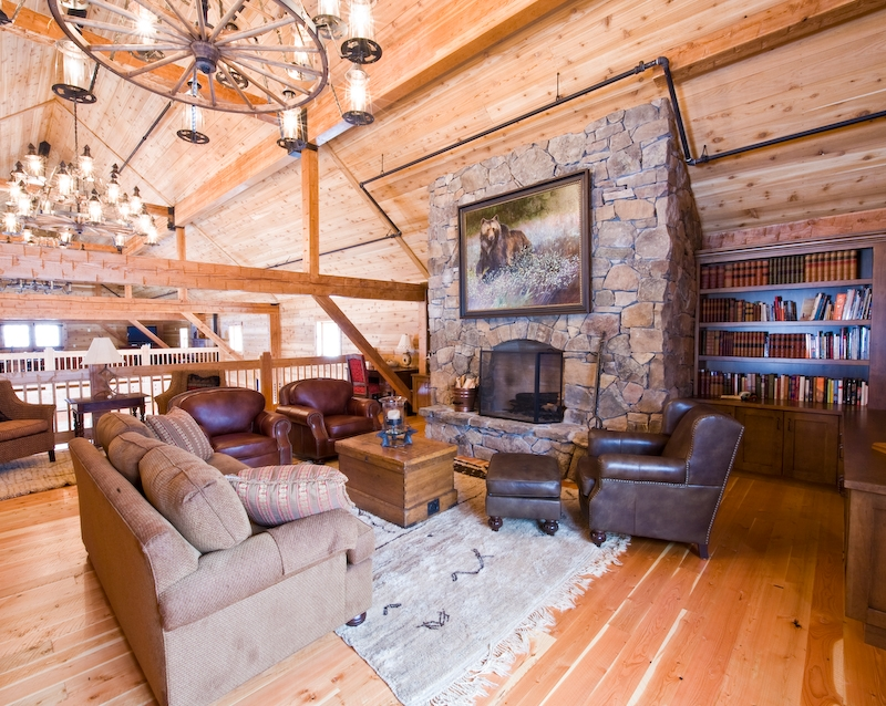 Superb Grizzly Creek Ranch Living Room 2