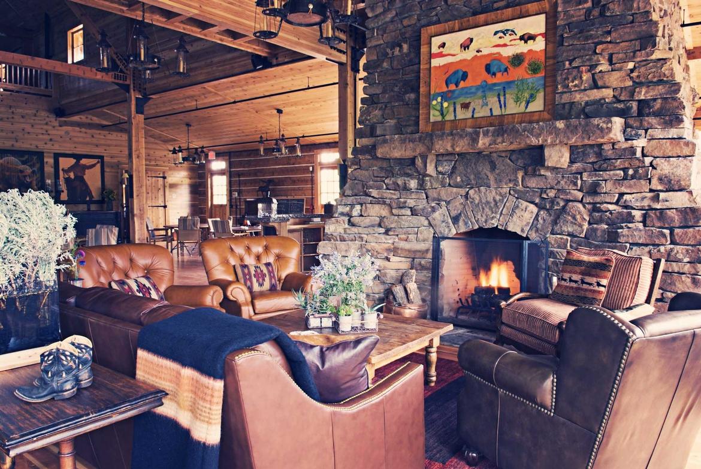 Ranch Living Room Gallery Jeff Landry Design