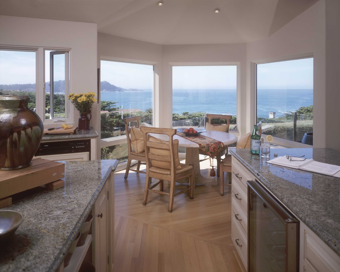 Carmel Beach House Kitchen Dining